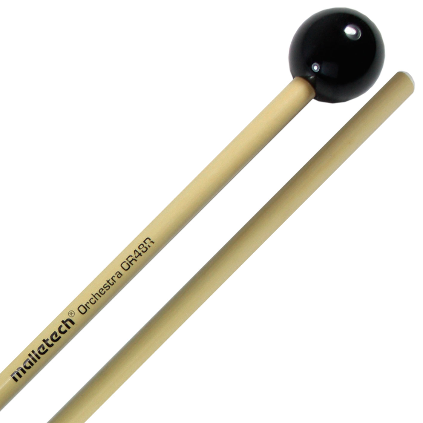 Malletech Orchestra Series Heavy Bell Mallets with Rattan Shafts