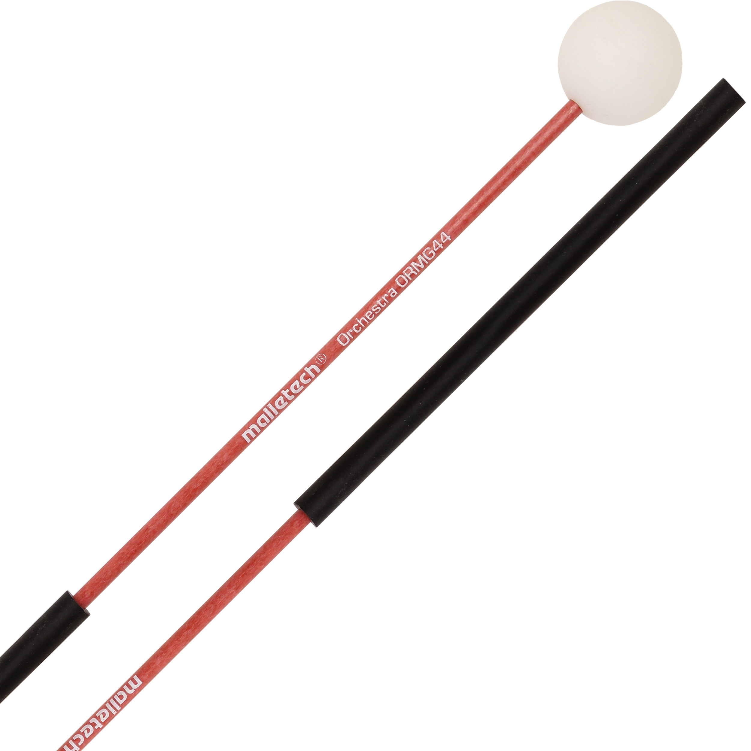 "Malletech Orchestral Series 7/8"" White Mini-Glock Mallets with Thin Fiberglass Shafts"