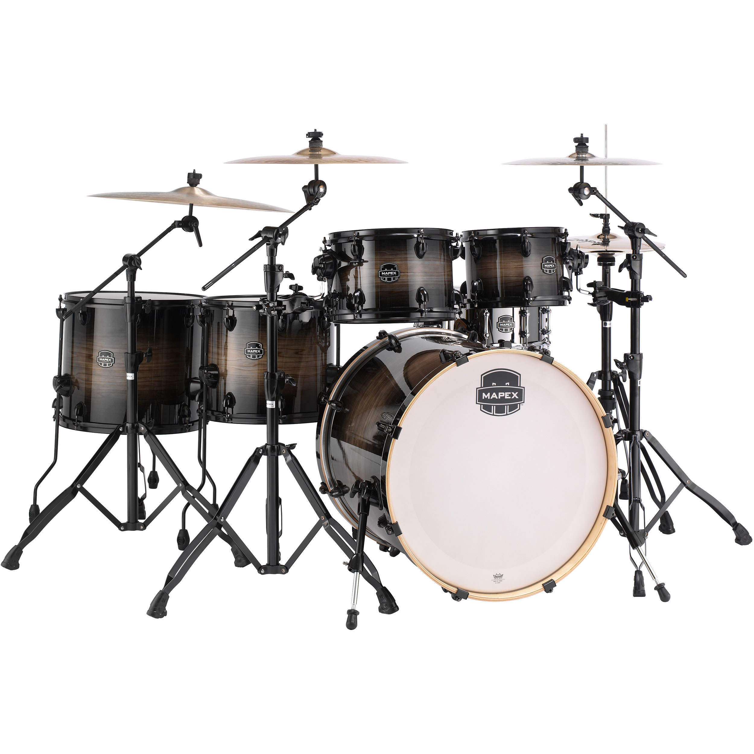 Alternate Image For Mapex Armory 6 Piece Studioease Fast Drum Set Shell Pack 22