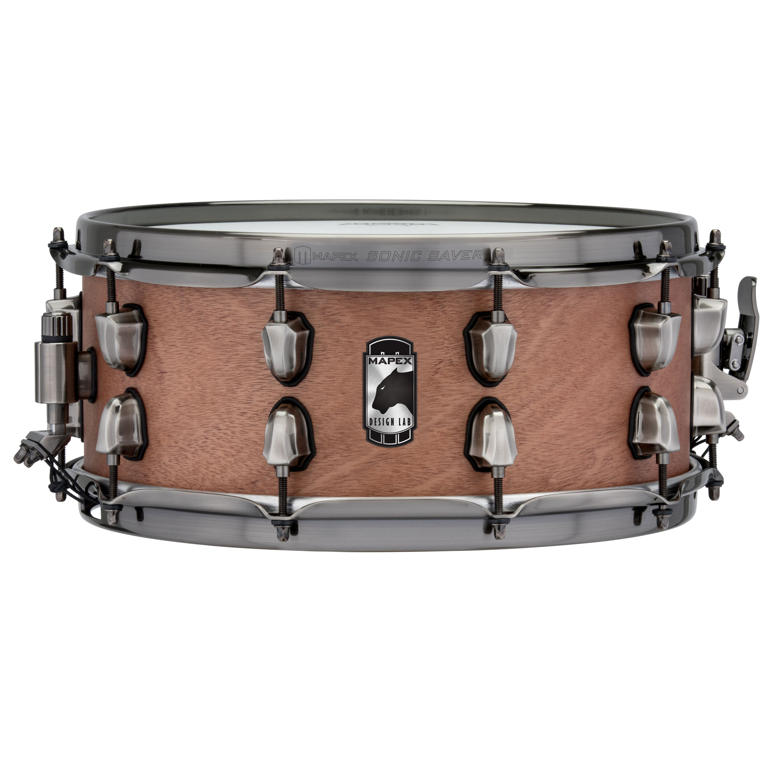 "Mapex 14"" x 6"" Black Panther Design Lab Heartbreaker Mahogany Snare Drum"