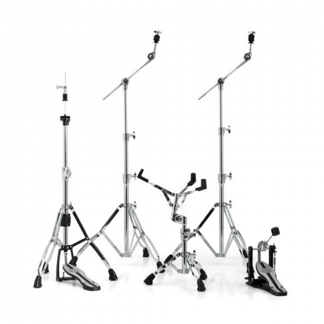 Mapex Mars Single Pedal Hardware Pack in Chrome Plating