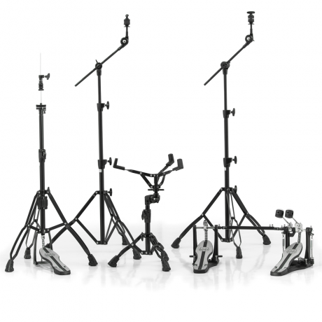 Mapex Mars Double Pedal Hardware Pack in Black Plating