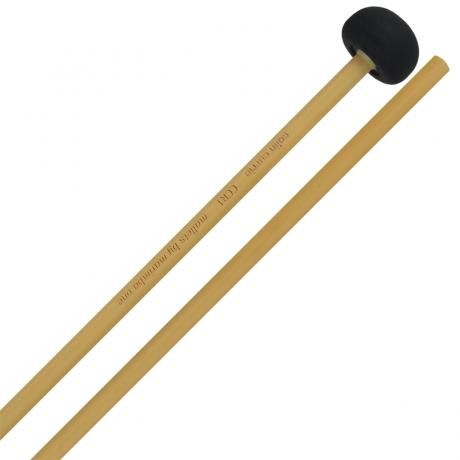 Marimba One Colin Currie Signature Medium Unwrapped Marimba Mallets with Rattan Shafts