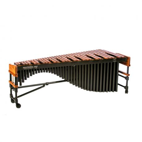 Marimba One 9301 3100 Series 5.0 Octave Marimba with Traditional Keyboard & Classic Black Resonators