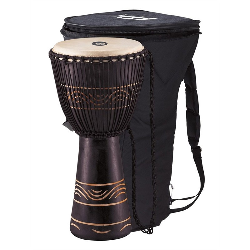 """Meinl 12"""" Moon Rhythm Series Rope-Tuned Djembe with Bag"""