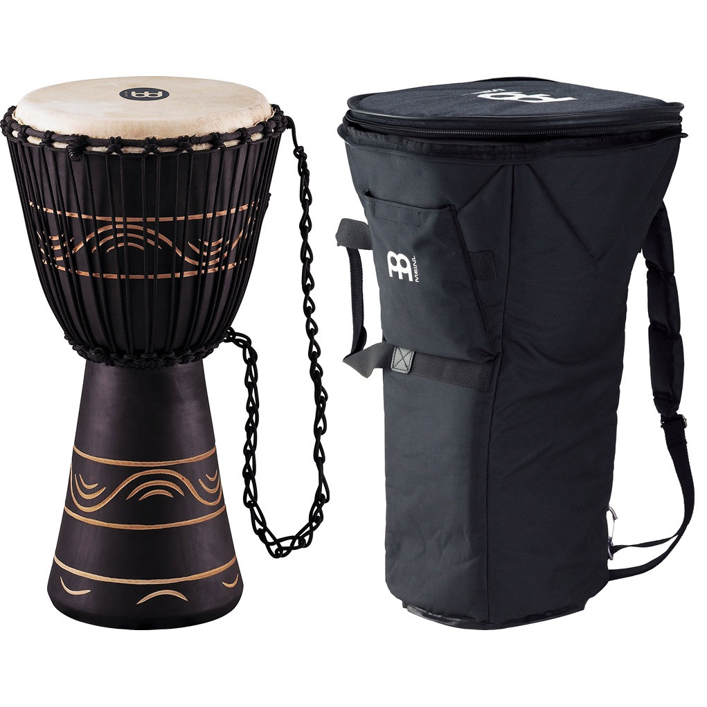 "Meinl 10"" Moon Rhythm Series Rope-Tuned Djembe with Bag"