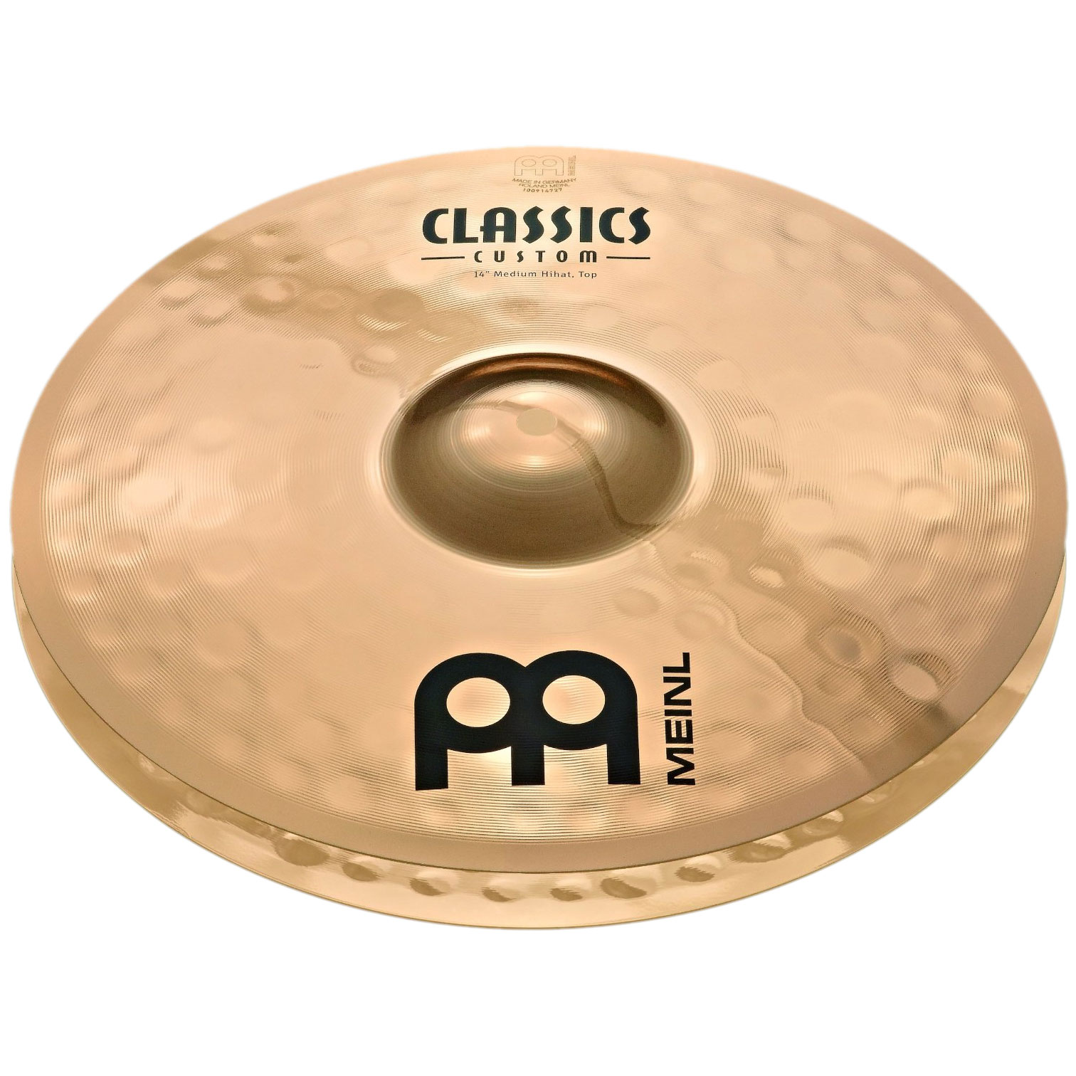 "Meinl 14"" Classics Custom Medium Hi Hat Cymbals"