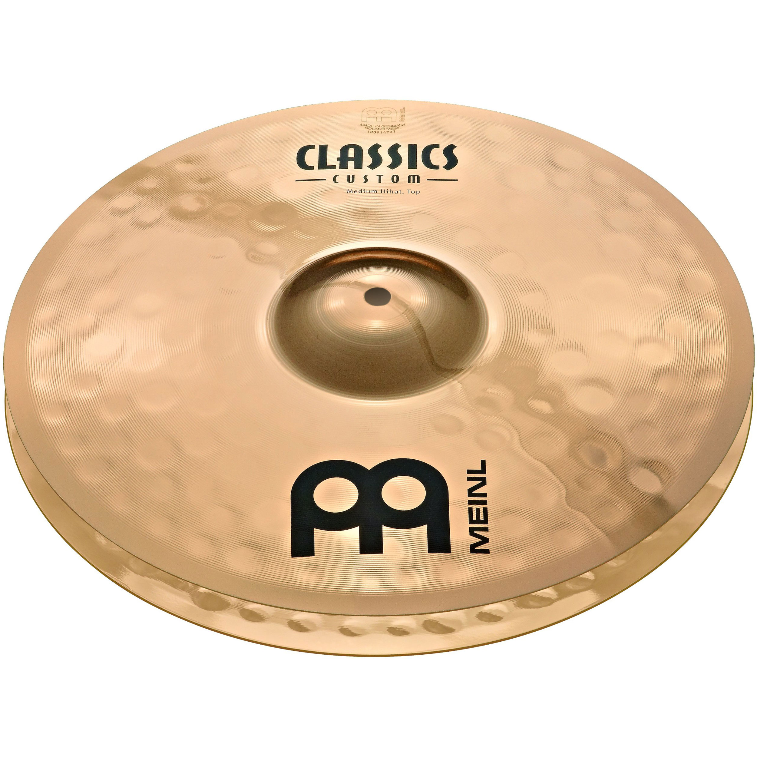 "Meinl 15"" Classics Custom Medium Hi Hat Cymbals"