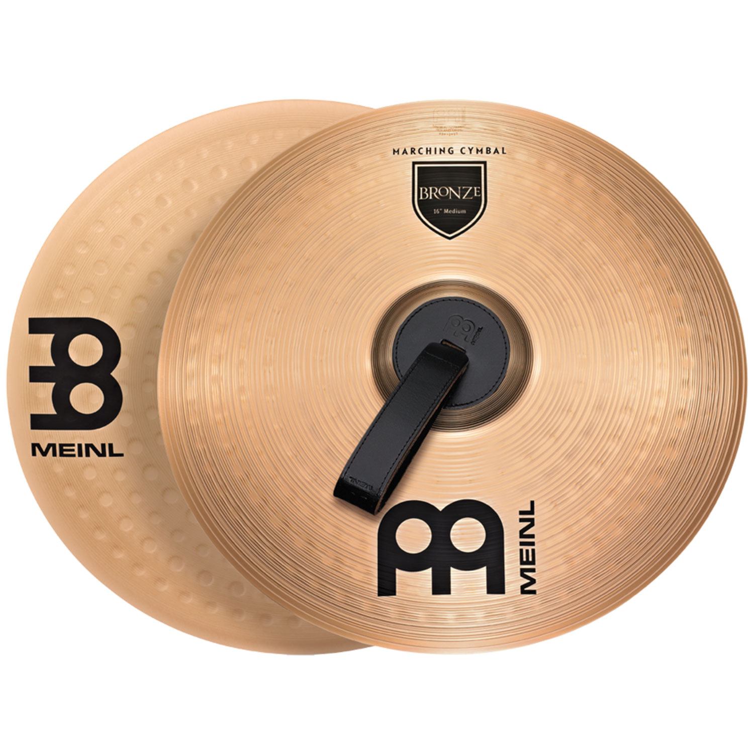 "Meinl 16"" B10 Marching Arena Hand Crash Cymbal Pair"