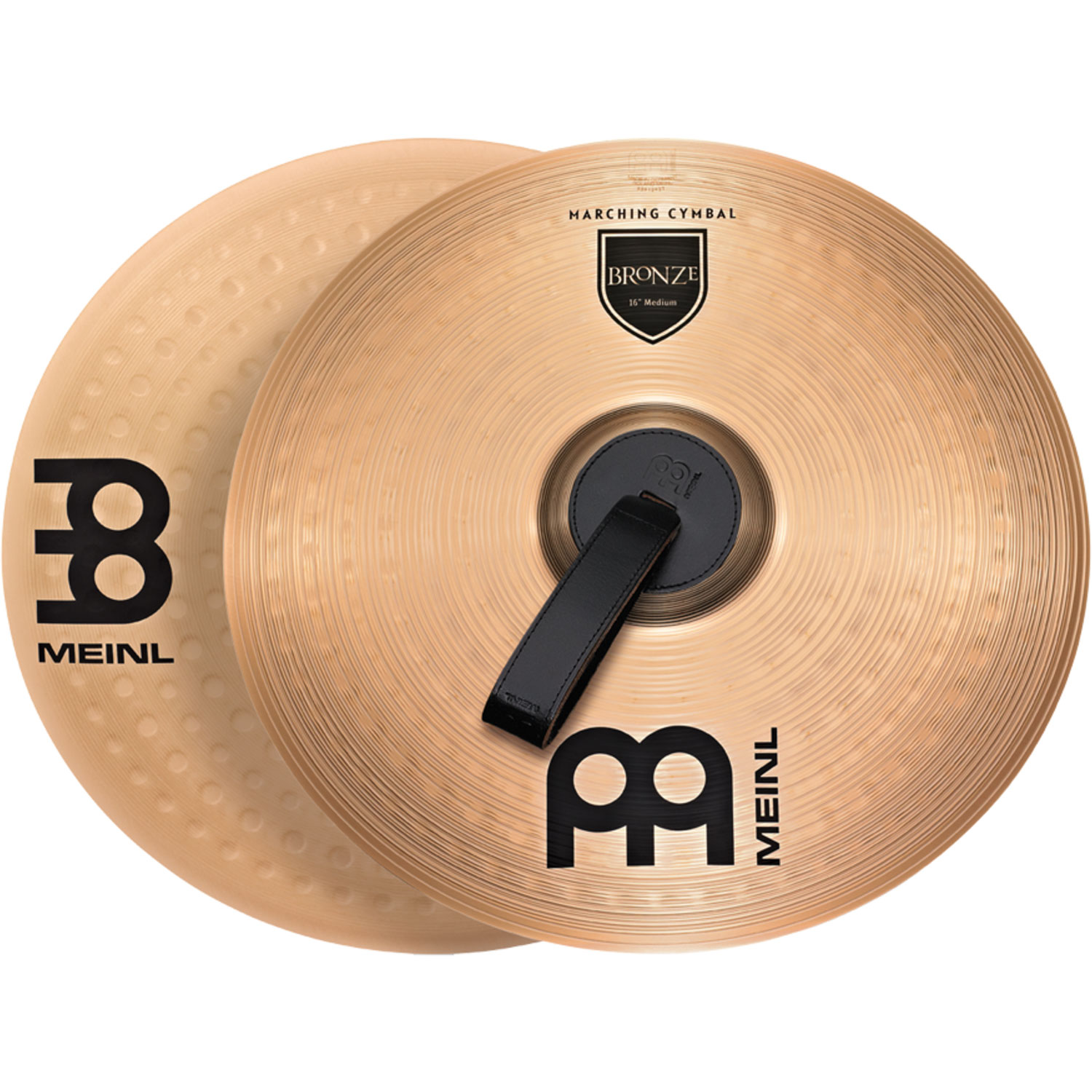 "Meinl 18"" B10 Marching Arena Hand Crash Cymbal Pair"