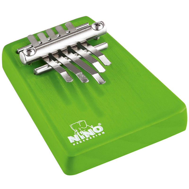 Meinl Nino Green Wood Kalimba (Thumb Piano)