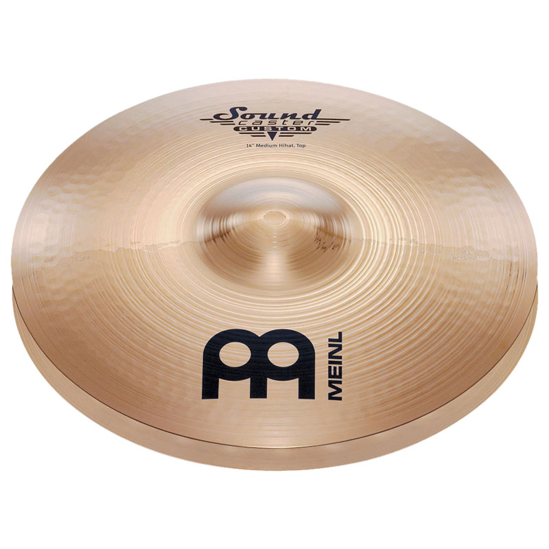 "Meinl 14"" Soundcaster Custom Medium Hi Hat Cymbals"