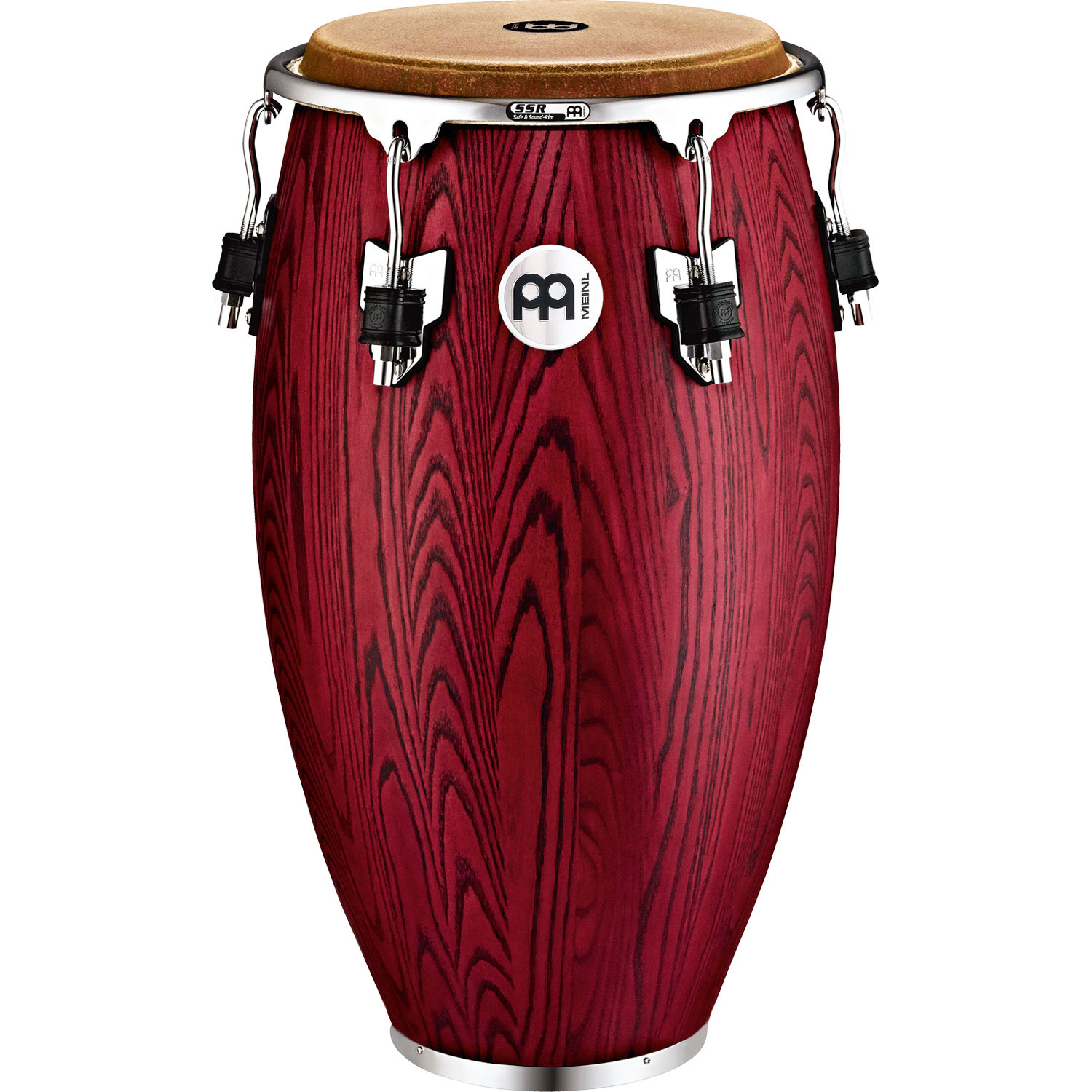 "Meinl 11.75"" Woodcraft Series Conga in Vintage Red"