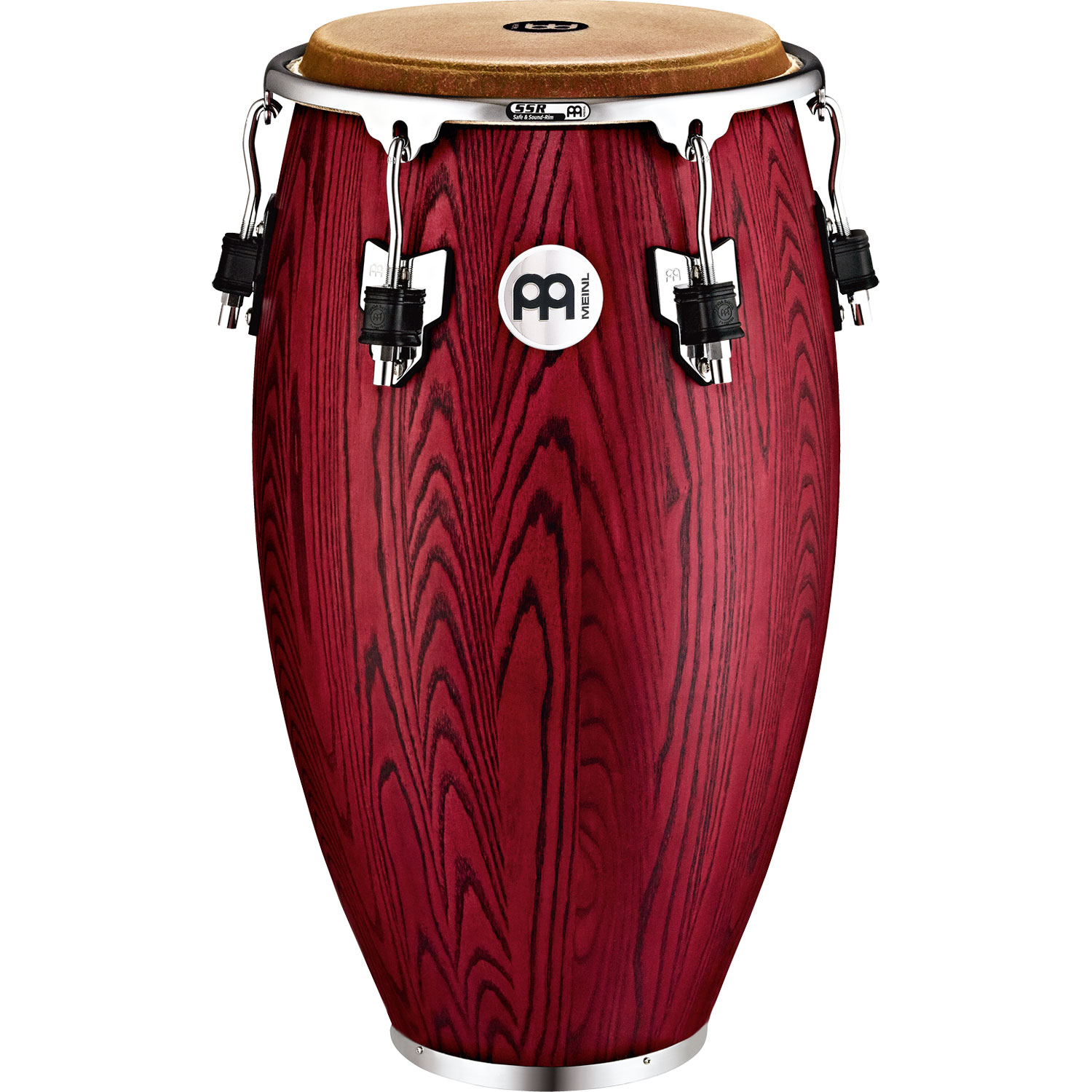 "Meinl 12.5"" Woodcraft Series Tumba Conga in Vintage Red"