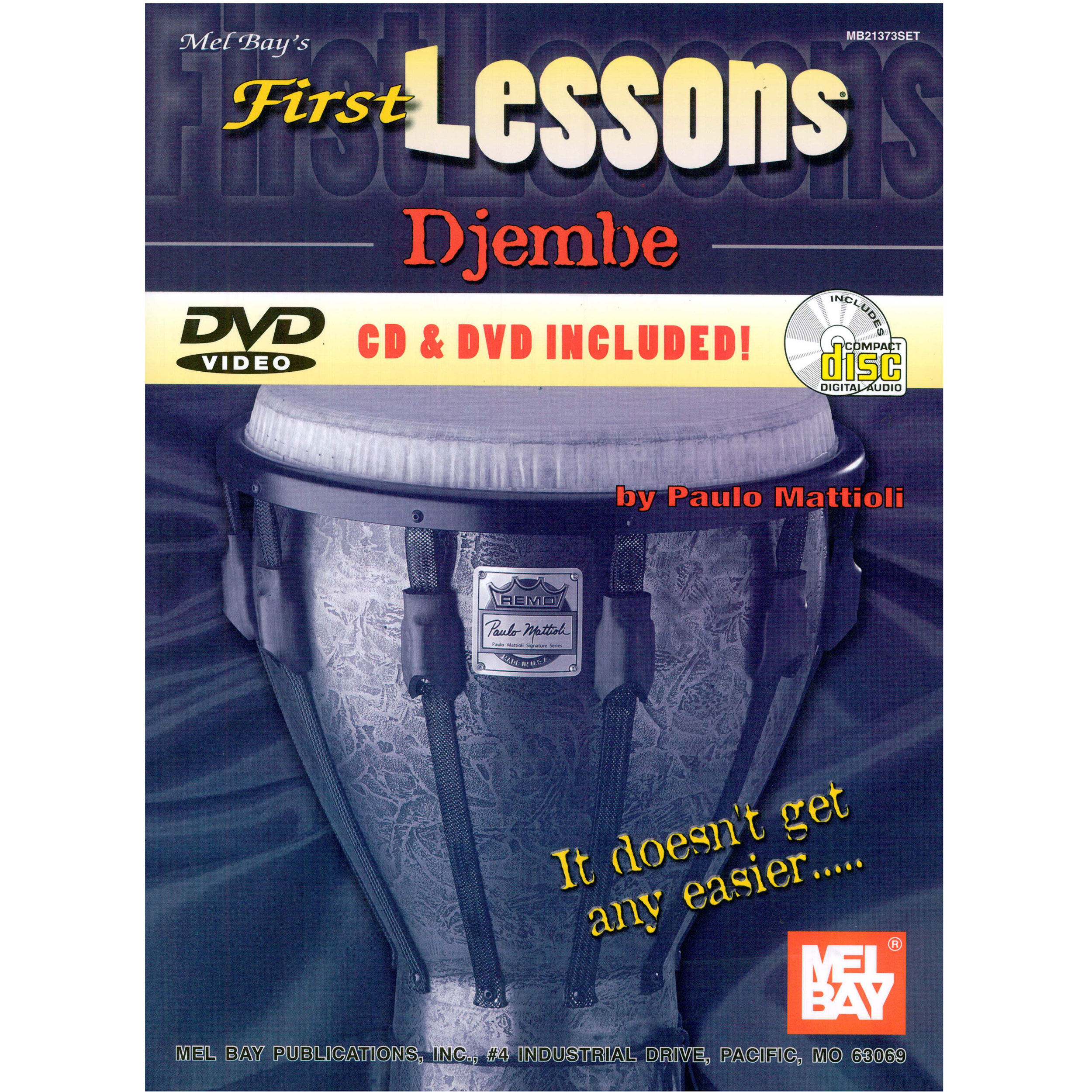 First Lessons: Djembe by Paulo Mattioli