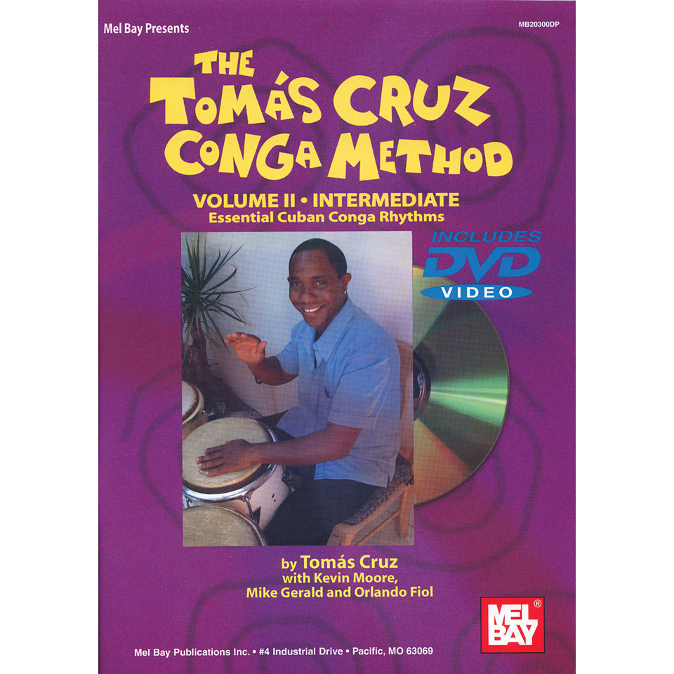 The Tomas Cruz Conga Method - Volume II by Tomas Cruz
