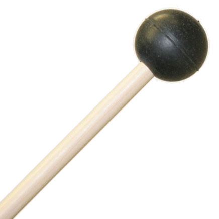 Mike Balter Grandioso Unwound Very Soft Rubber Xylophone Mallets with Birch Handles