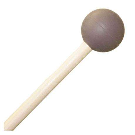 Mike Balter Grandioso Unwound Medium Soft Rubber Xylophone Mallets with Birch Handles