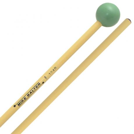 Mike Balter Grandioso Unwound Medium Rubber Xylophone Mallets with Rattan Handles