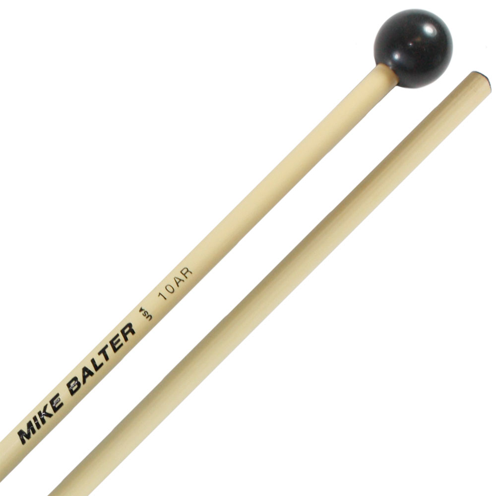Mike Balter Unwound Large Hard Phenolic Bell Mallets with Rattan Handles