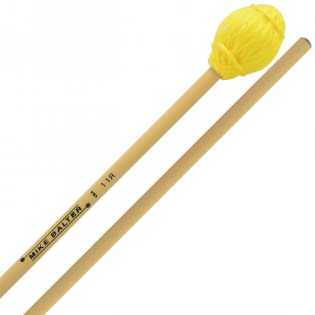Mike Balter Ensemble Series Hard Marimba Mallets with Rattan Handles