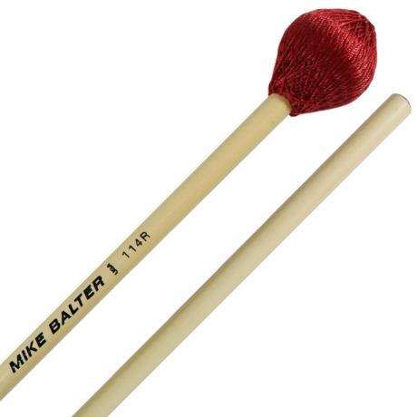 Mike Balter Ultimate Series Medium Vibraphone Mallets with Rattan Handles