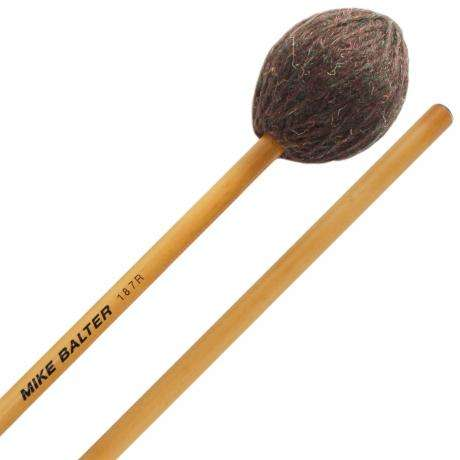 Mike Balter Universal Series Extra Extra Soft to Extra Soft Marimba Mallets with Rattan Handles