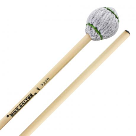 Mike Balter Titanium Series Hard Vibraphone/Marimba Mallets with Rattan Handles