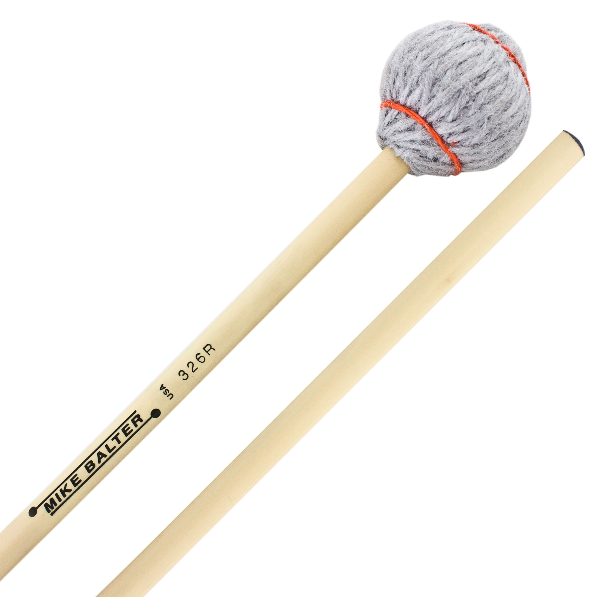 Mike Balter Titanium Series Soft Vibraphone/Marimba Mallets with Rattan Handles