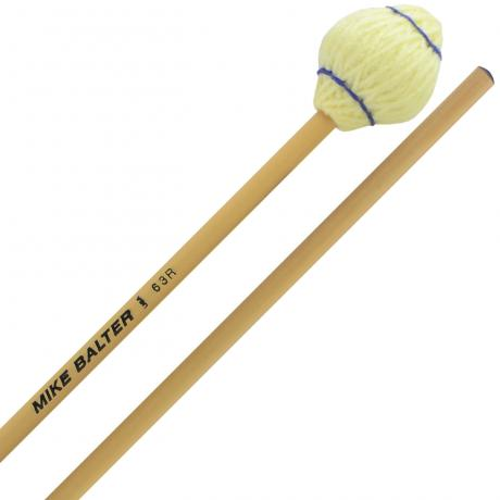 Mike Balter Mushroom Head Medium Soft Marimba Mallets with Rattan Handles