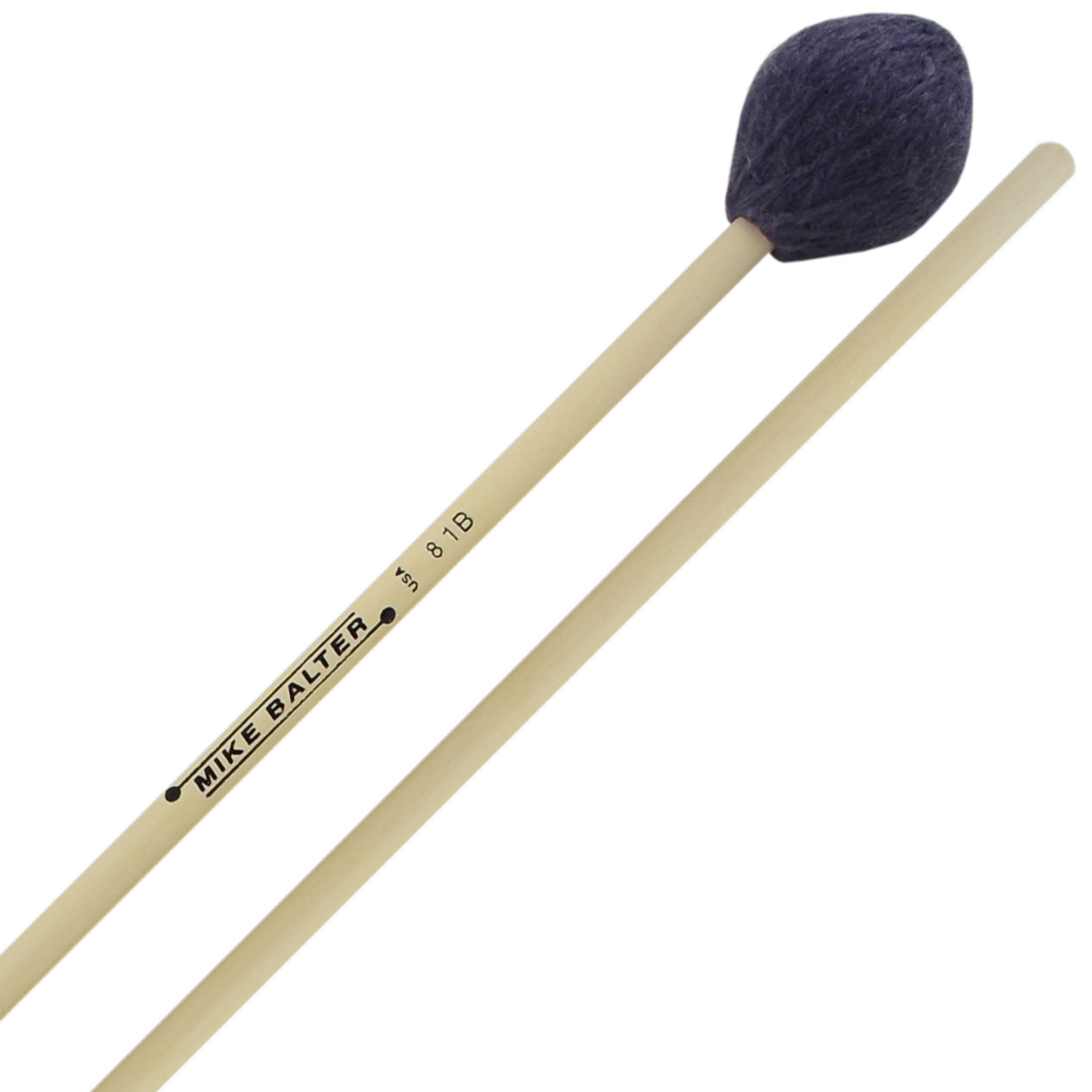 Mike Balter Contemporary Series Hard Marimba Mallets with Birch Handles