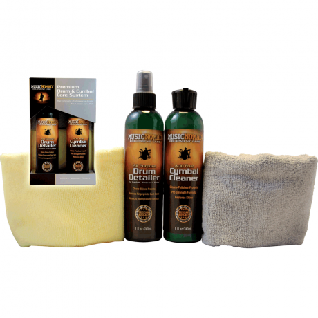 MusicNomad Premium Drum and Cymbal Care Kit