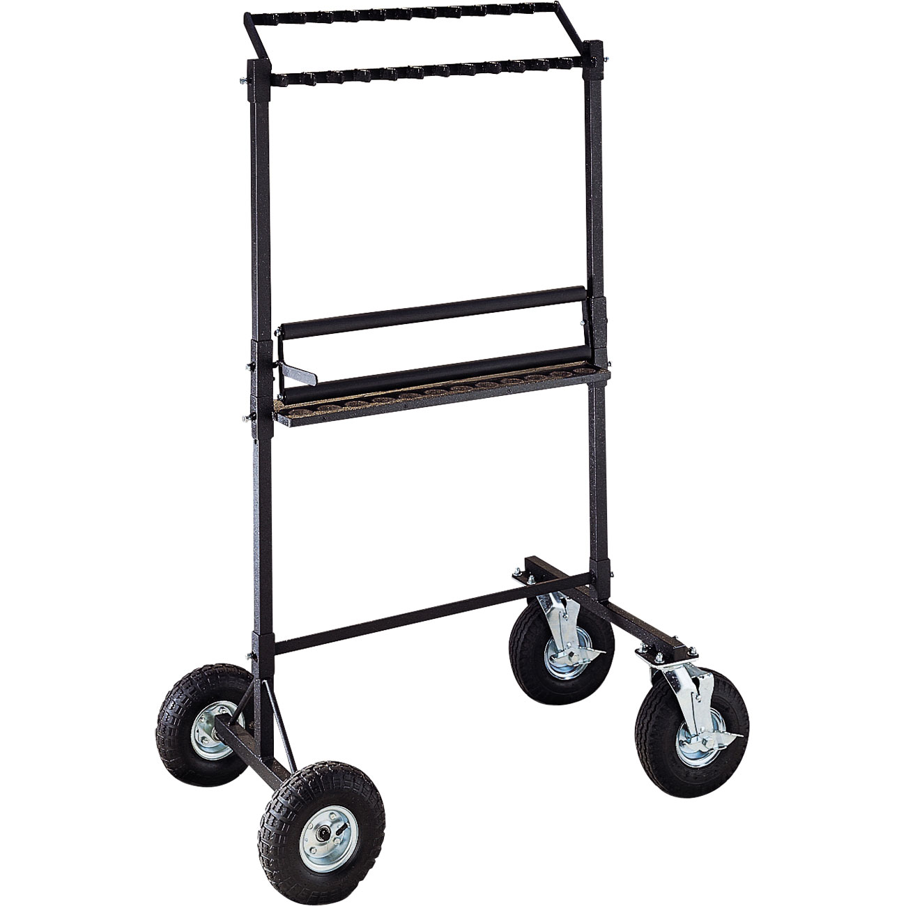 "Musser Chime Cart with 8"" Tires and Hand Dampener"