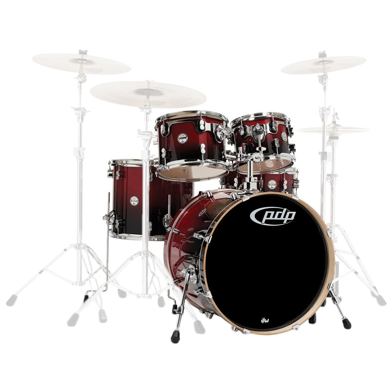 "PDP CB5 Concept Birch 5-Piece Drum Set Shell Pack (22"" Bass, 10/12/16"" Toms, 14"" Snare)"
