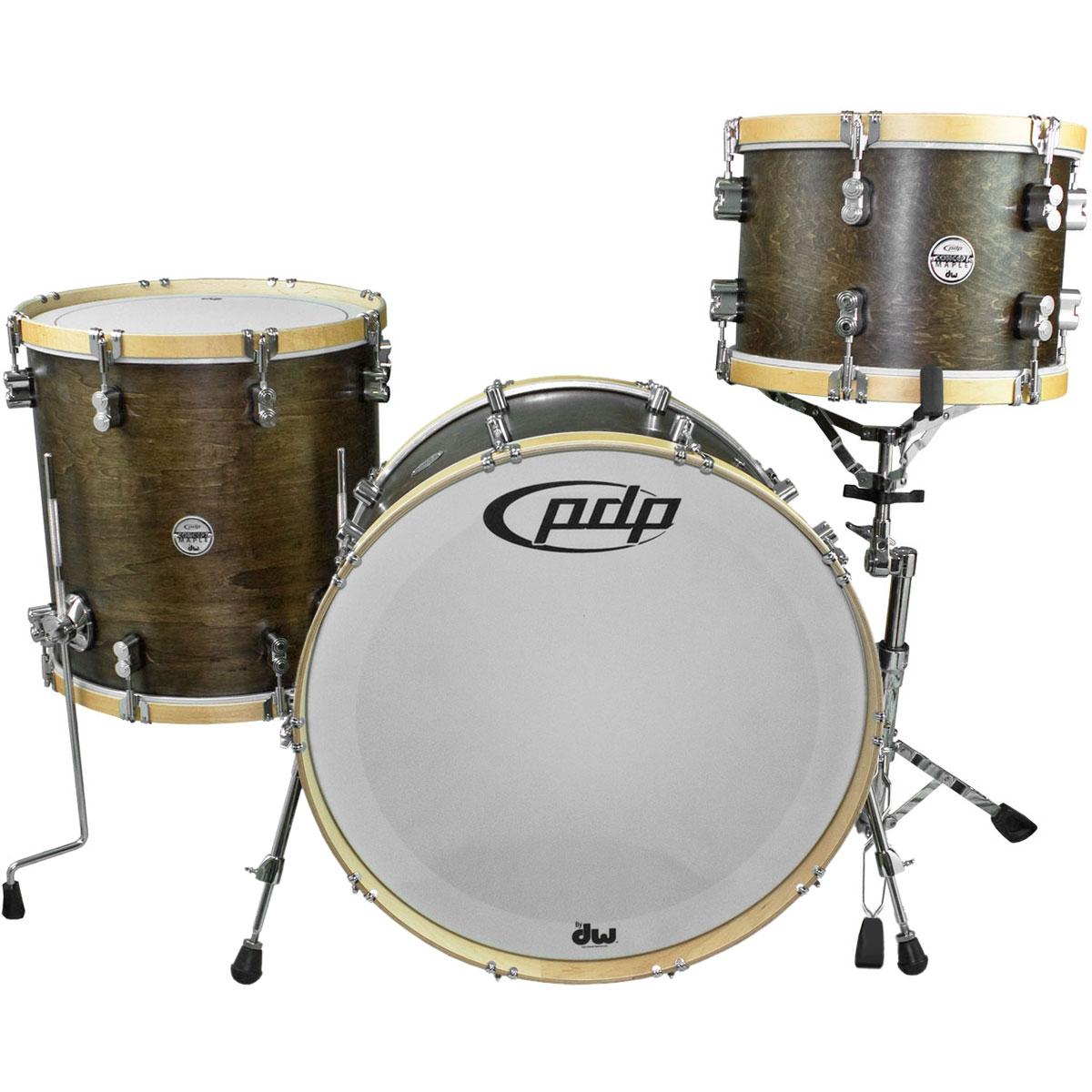 """PDP Concept Maple Classic Drum Set Shell Pack (22"""" Bass, 13/16"""" Toms)"""