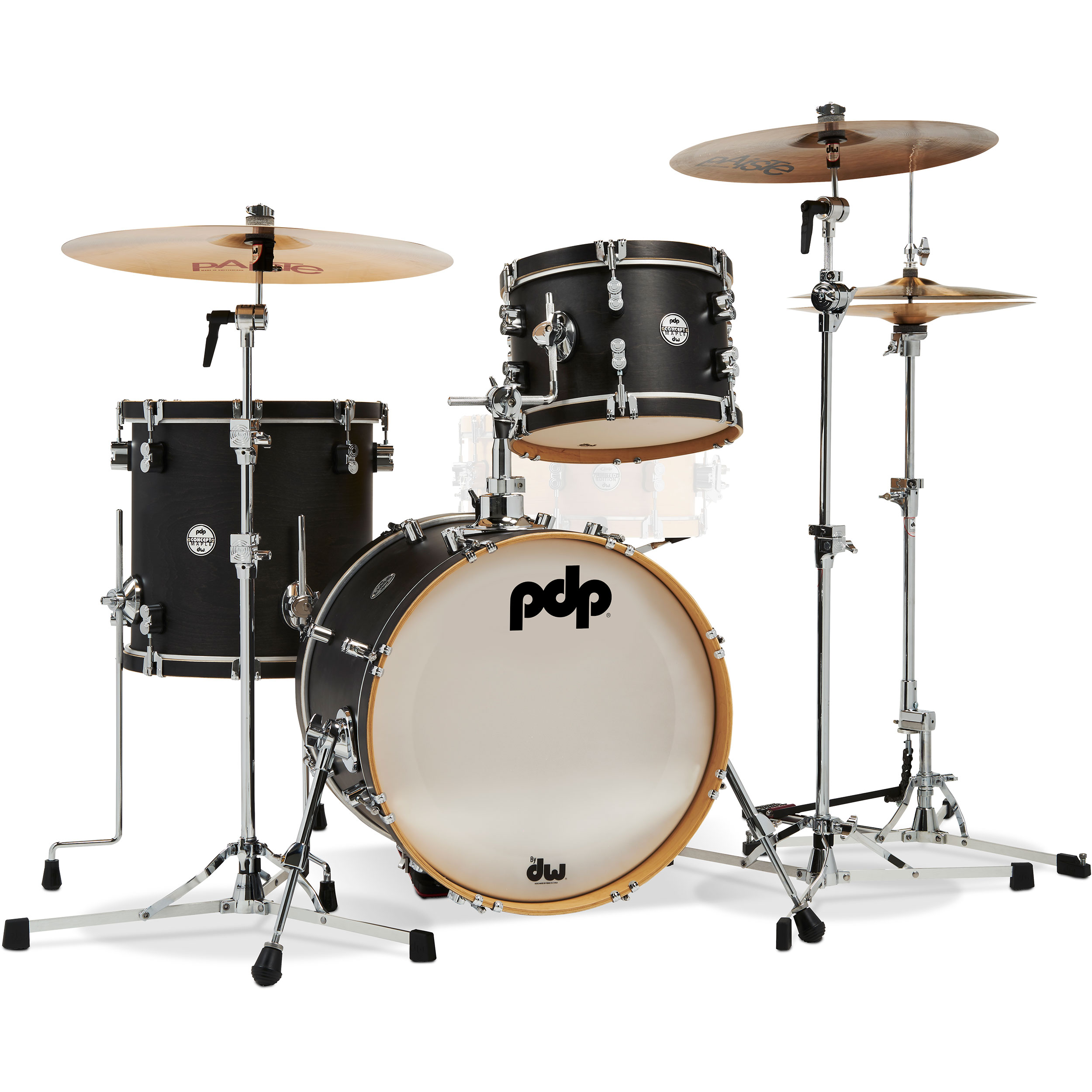 "PDP Concept Maple Classic Bop Kit 3-Piece Drum Set Shell Pack (18"" Bass, 12/14"" Toms)"