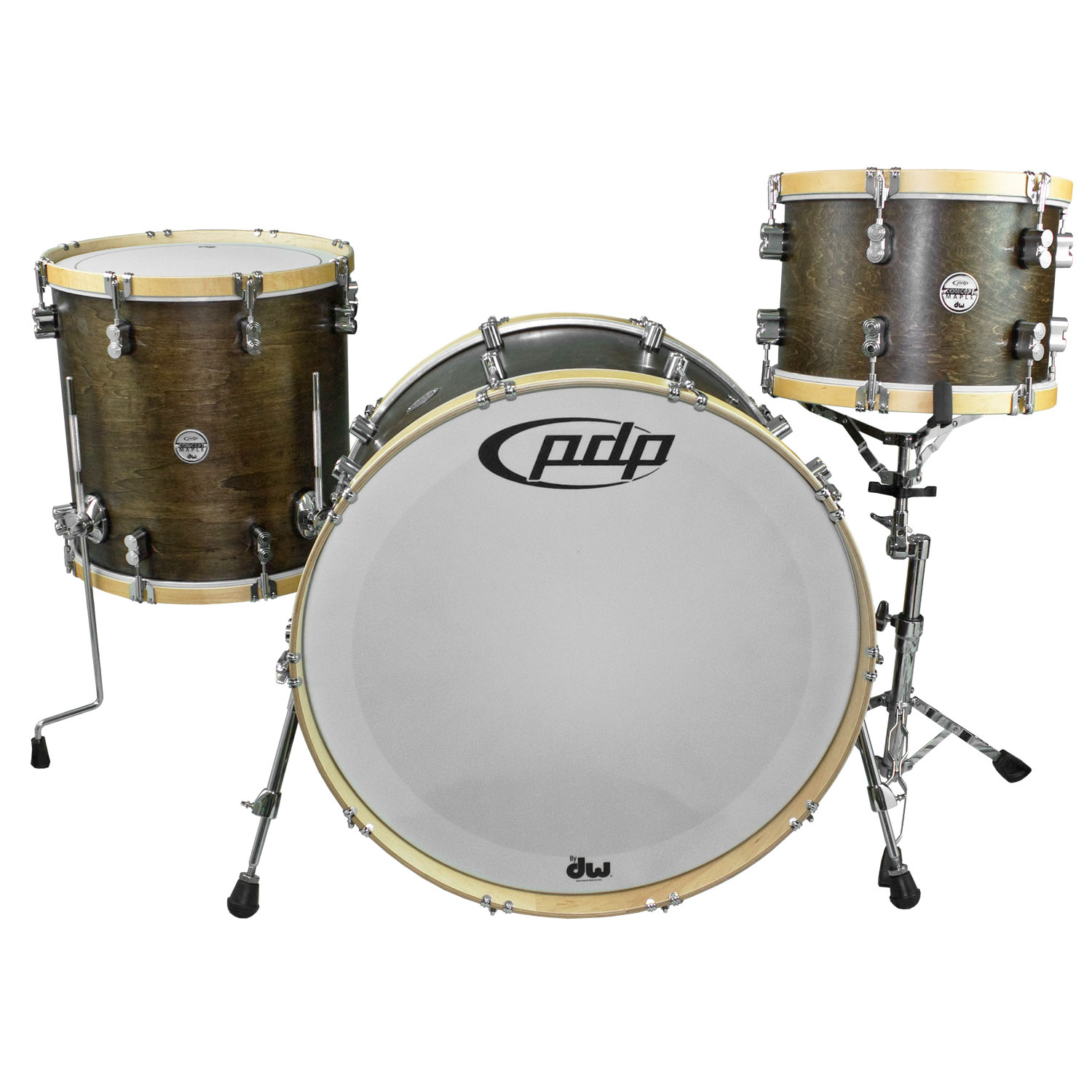 """PDP Concept Maple Classic Drum Set Shell Pack (24"""" Bass, 13/16"""" Toms)"""