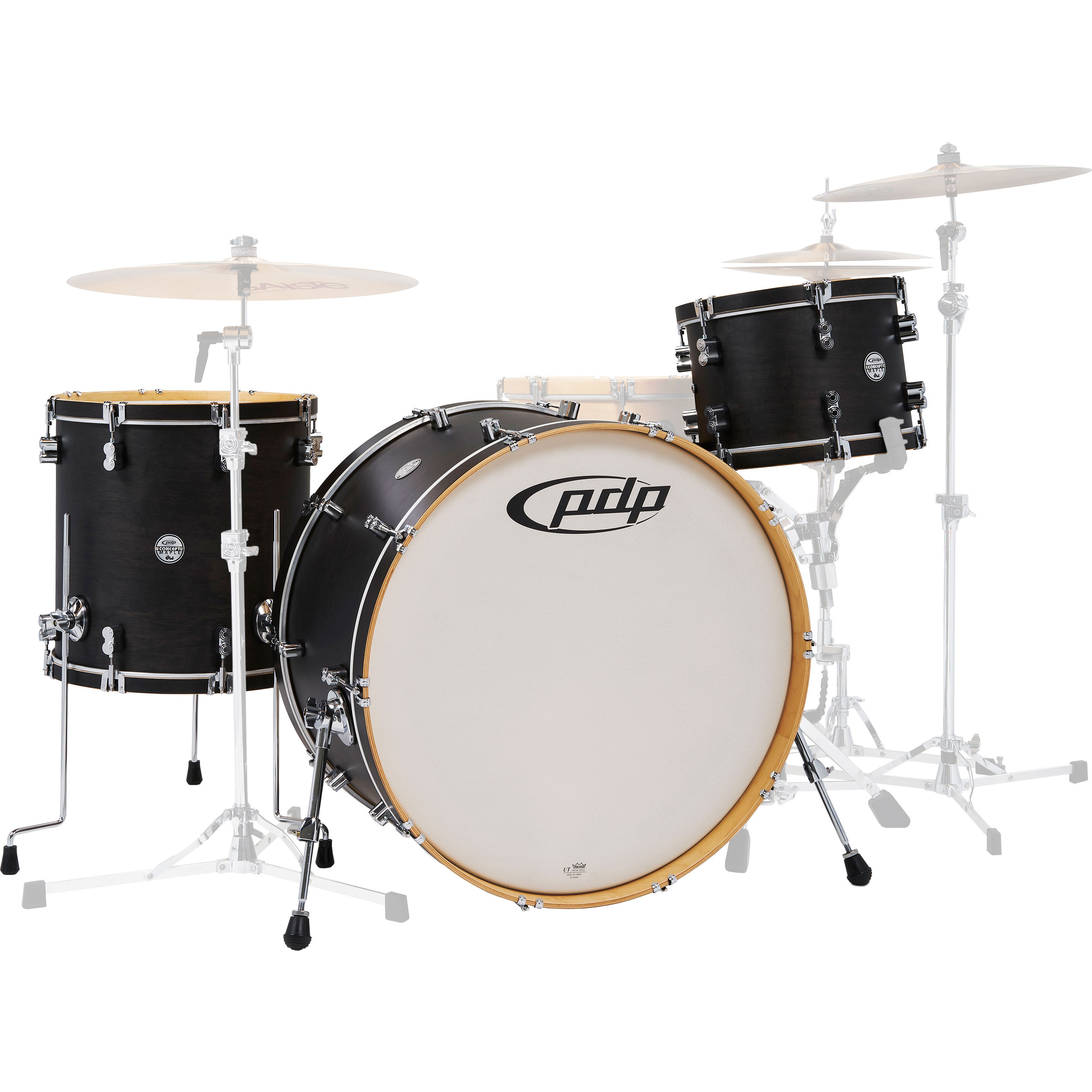 """PDP Concept Maple Classic 3-Piece Drum Set Shell Pack (26"""" Bass, 13/16"""" Toms)"""