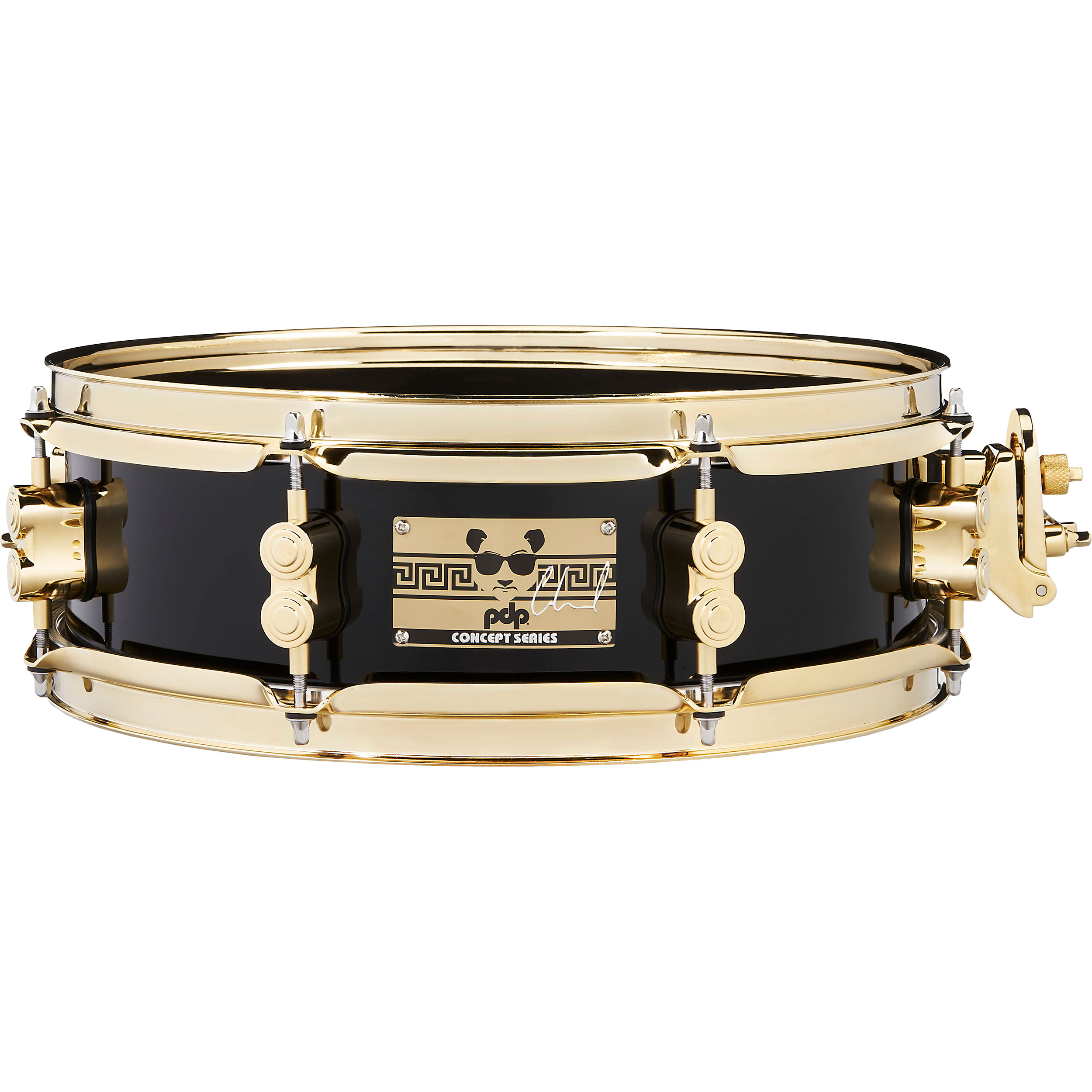 "PDP 4"" x 13"" Eric Hernandez Signature Maple Snare Drum with Gold Hardware"
