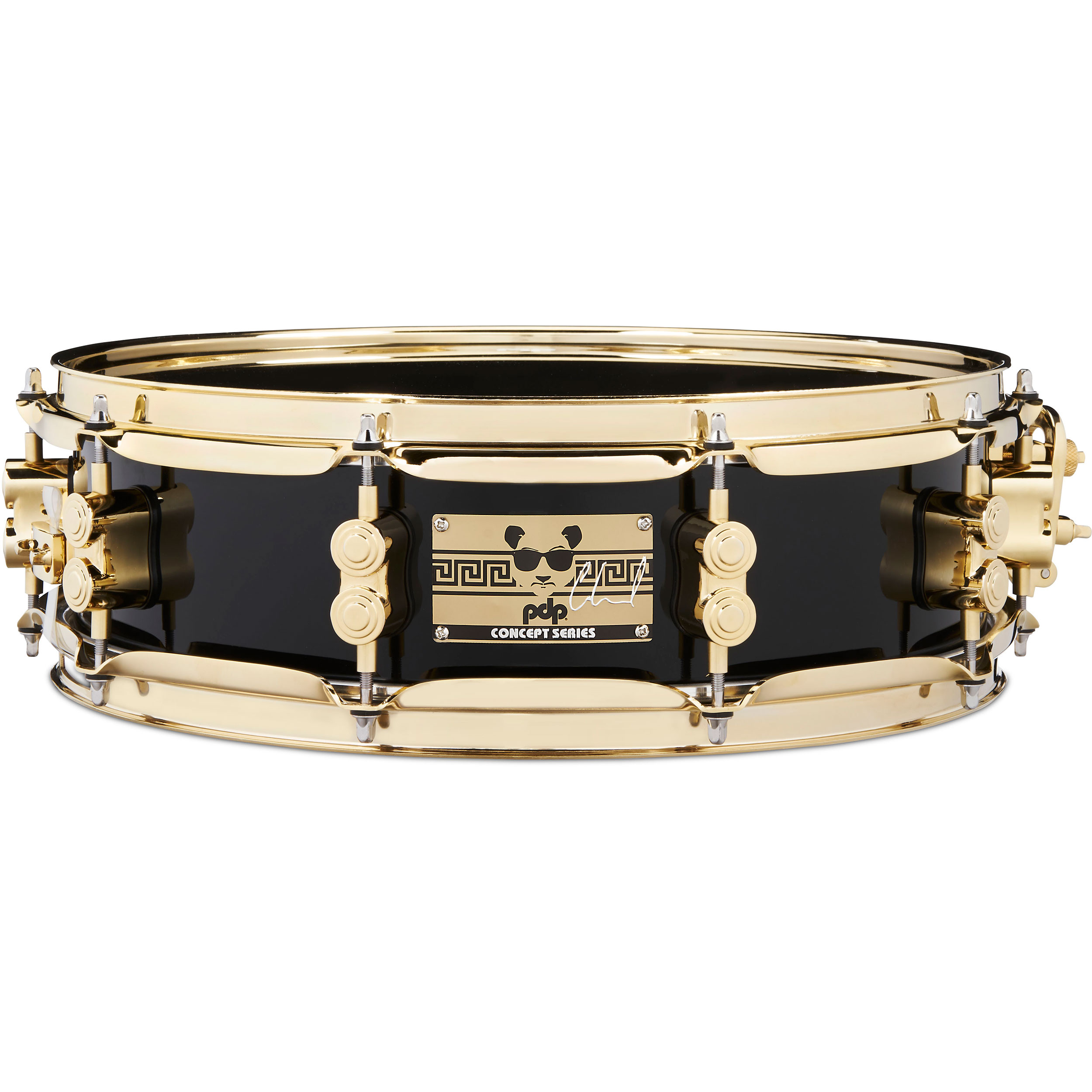 "PDP 4"" x 14"" Eric Hernandez Signature Maple Snare Drum with Gold Hardware"