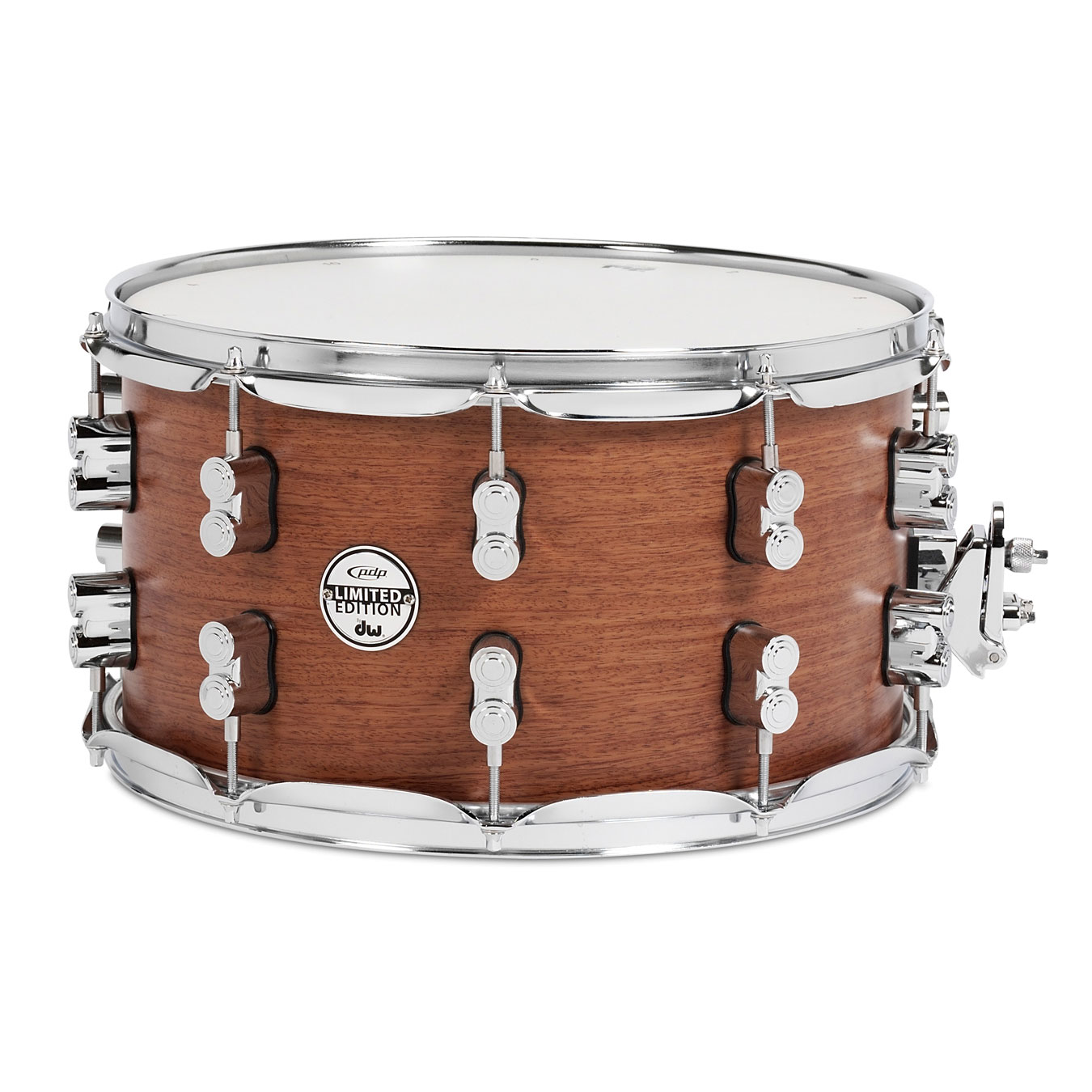 """PDP 8"""" x 14"""" Limited Edition Maple/Bubinga Snare Drum"""