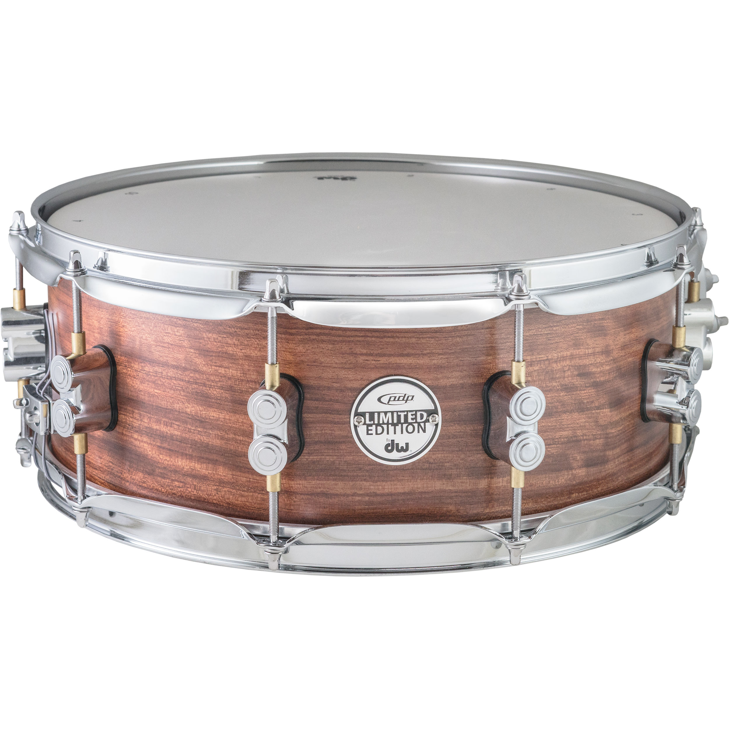"""PDP 5.5"""" x 14"""" Limited Edition Maple/Bubinga Snare Drum"""