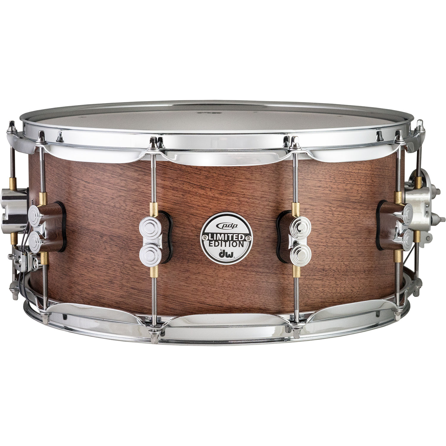 """PDP 6.5"""" x 14"""" Limited Edition Maple/Bubinga Snare Drum"""