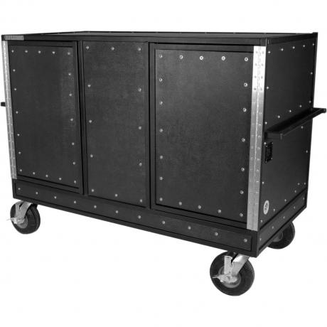 Pageantry Innovations KC-35 Standard Seated Synthesizer/Mixer Combo Cart