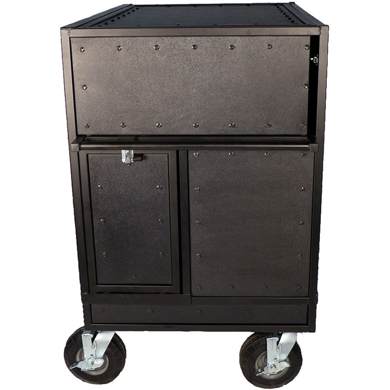 Pageantry Innovations Stealth Series Double Mixer Cart