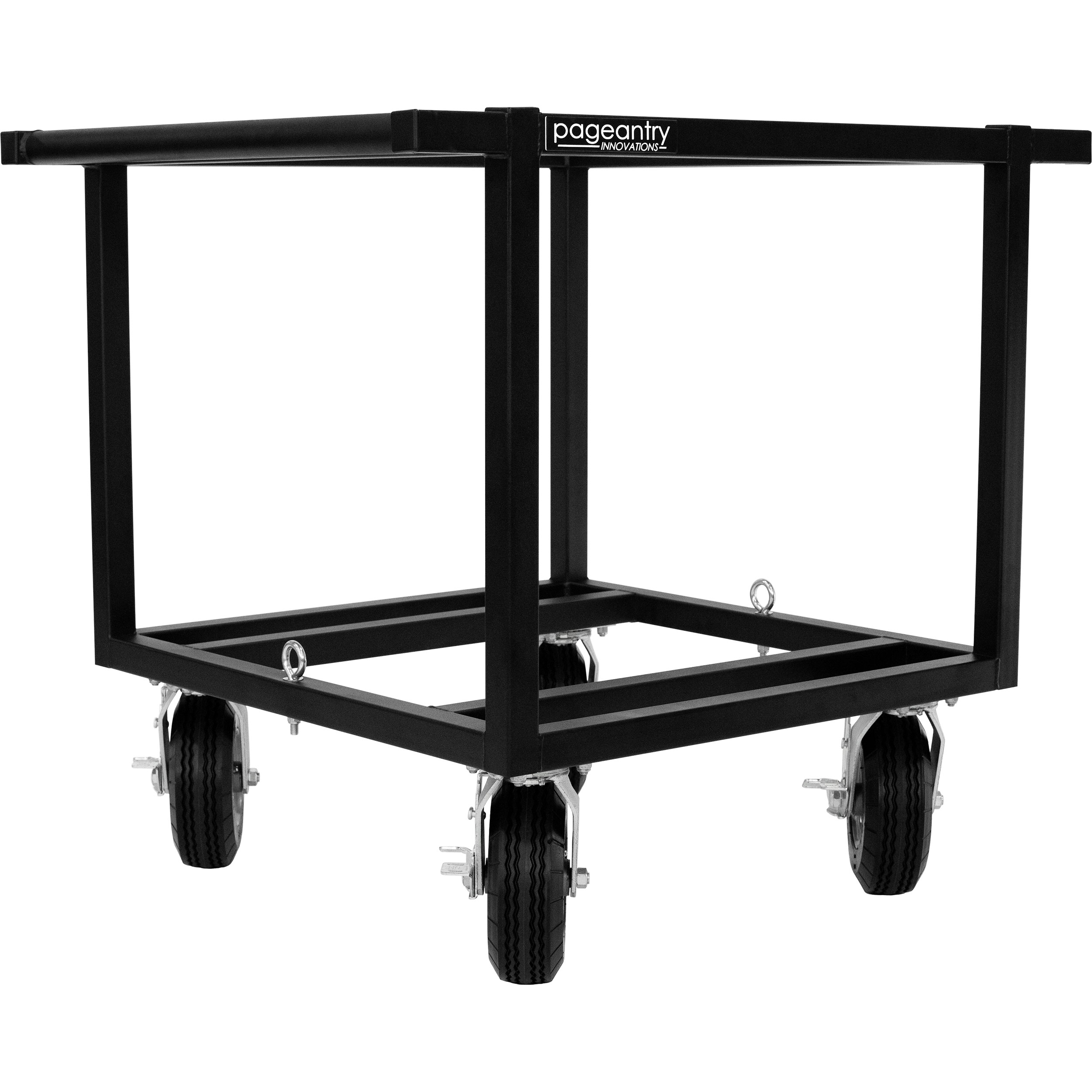 Pageantry Innovations Single Sub Speaker Cart - No Top
