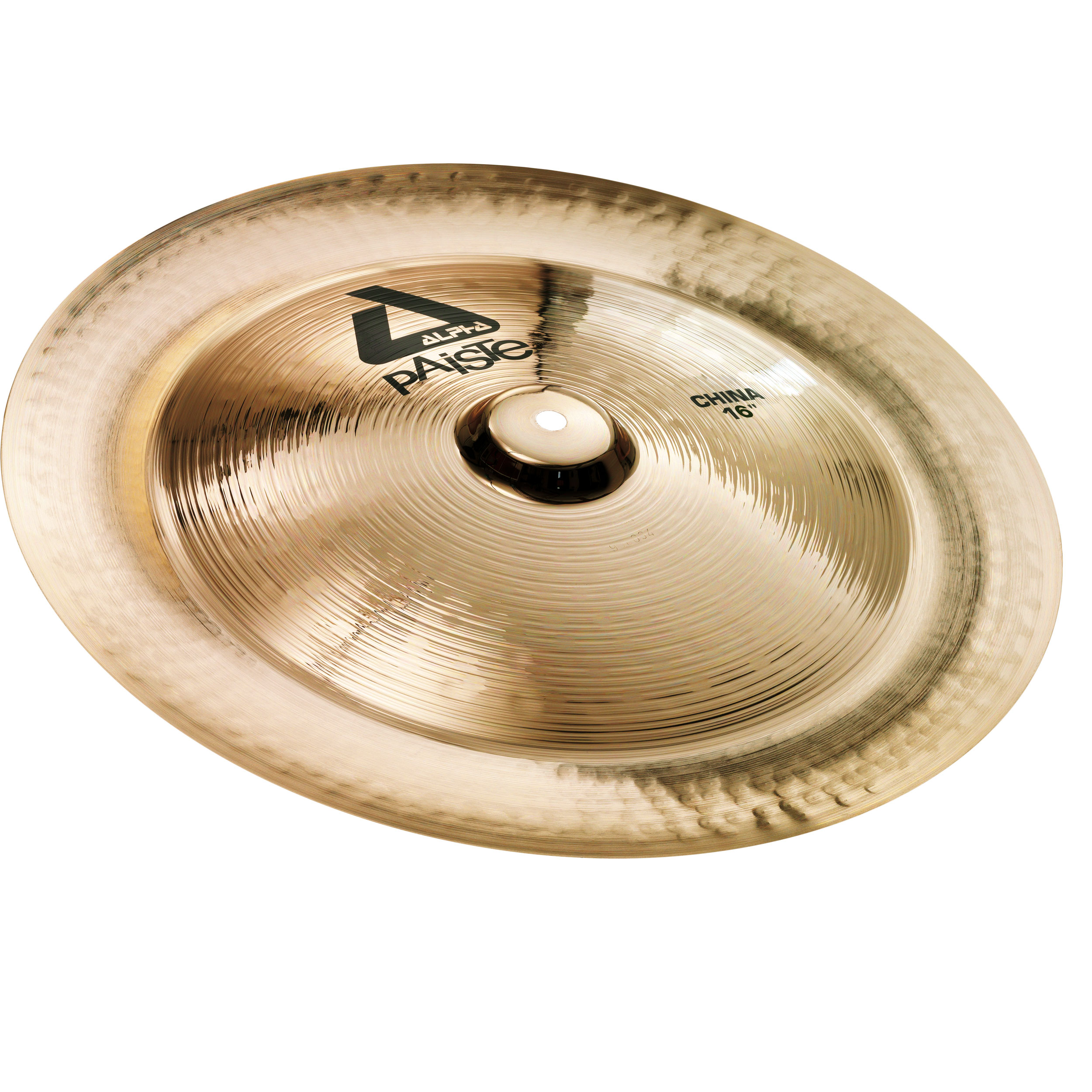 "Paiste 16"" Alpha China Cymbal with Brilliant Finish"