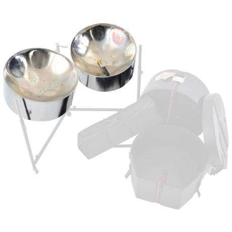 Panyard Import Series Chrome Double Tenors