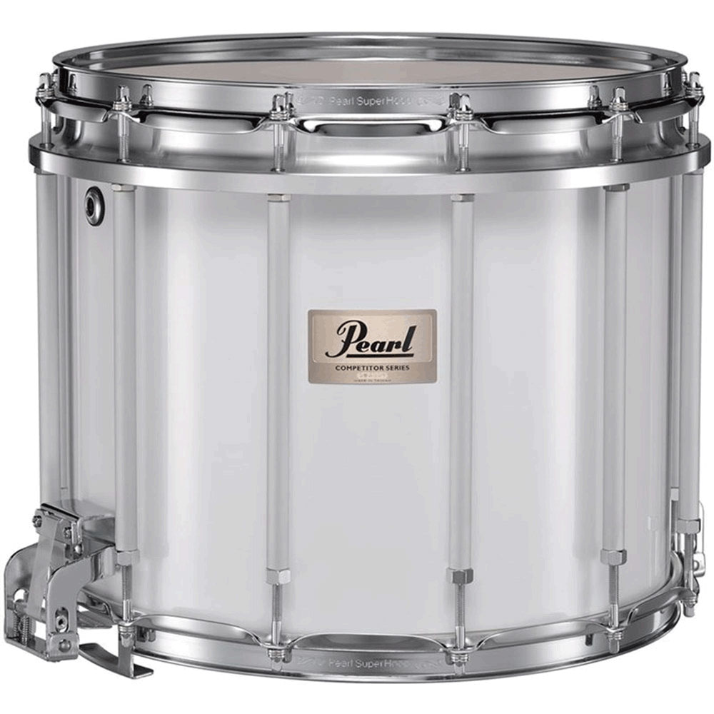 "Pearl 14"" (Diameter) x 12"" (Deep) Competitor High Tension Marching Snare Drum"
