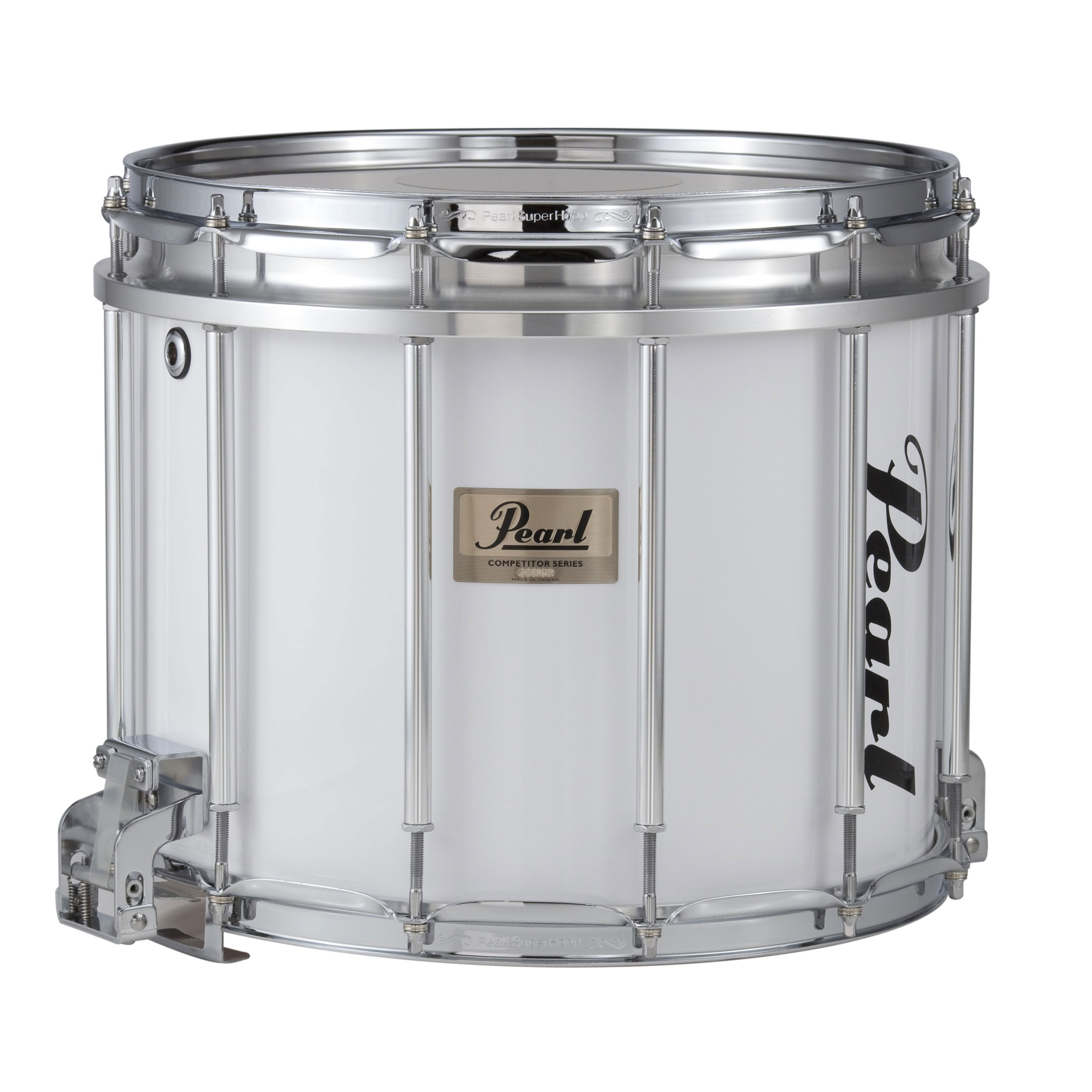 "Pearl 13"" (Diameter) x 11"" (Deep) Competitor High Tension Marching Snare Drum"